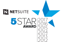 NetSuite Five Star Partner