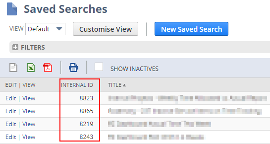 How to Export NetSuite Searches to Excel / Spreadsheets for