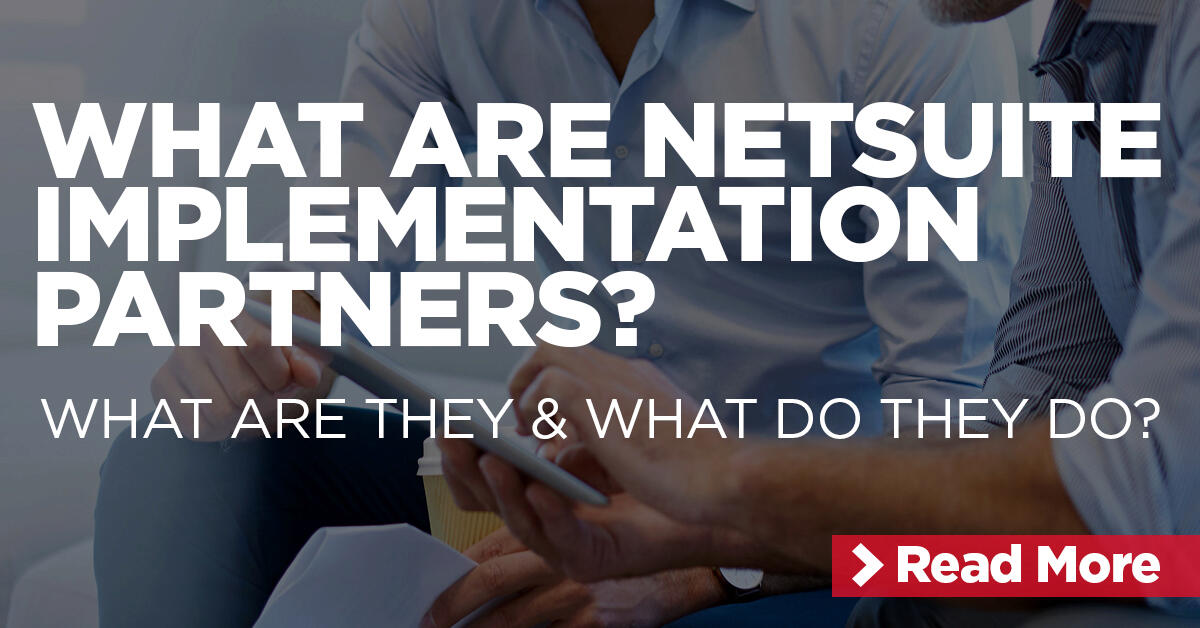 NetSuite Implementation Partners