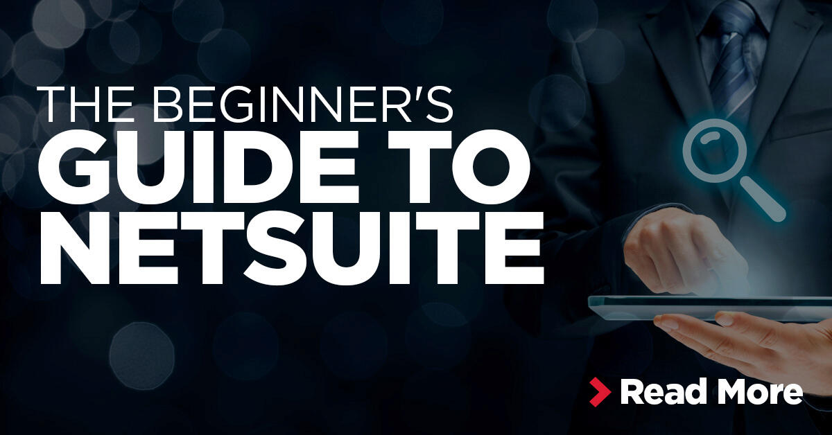 NetSuite Beginners Guide