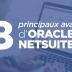 avantages d'Oracle NetSuite ERP